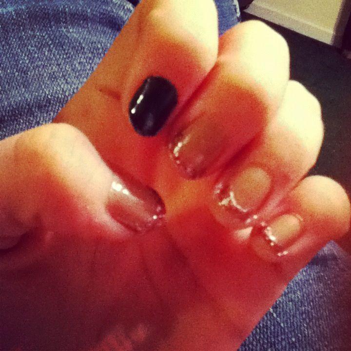 Pinterest inspired me:) #nails