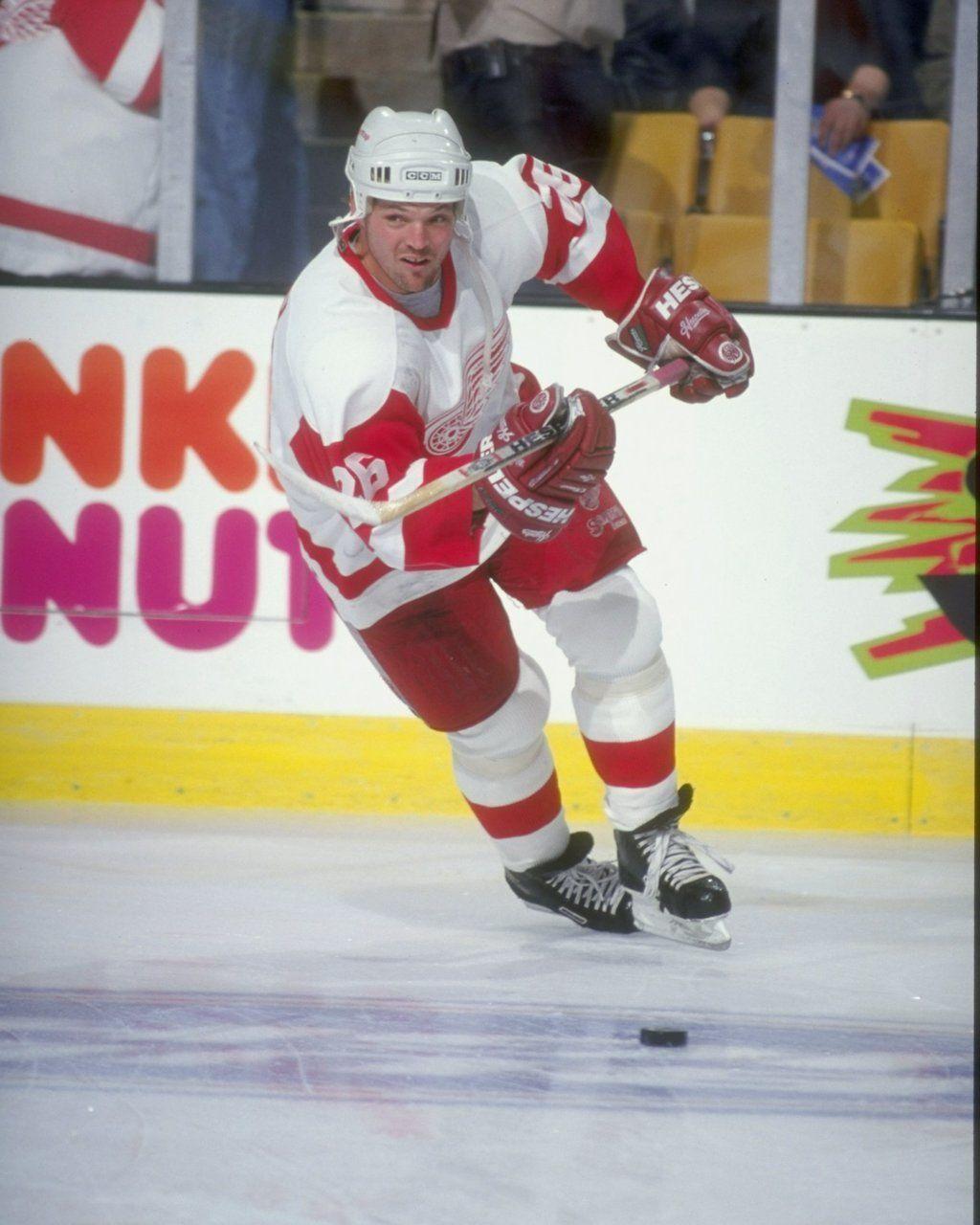 Detroit City Sports Joe Kocur Autographed 8x10 Photo