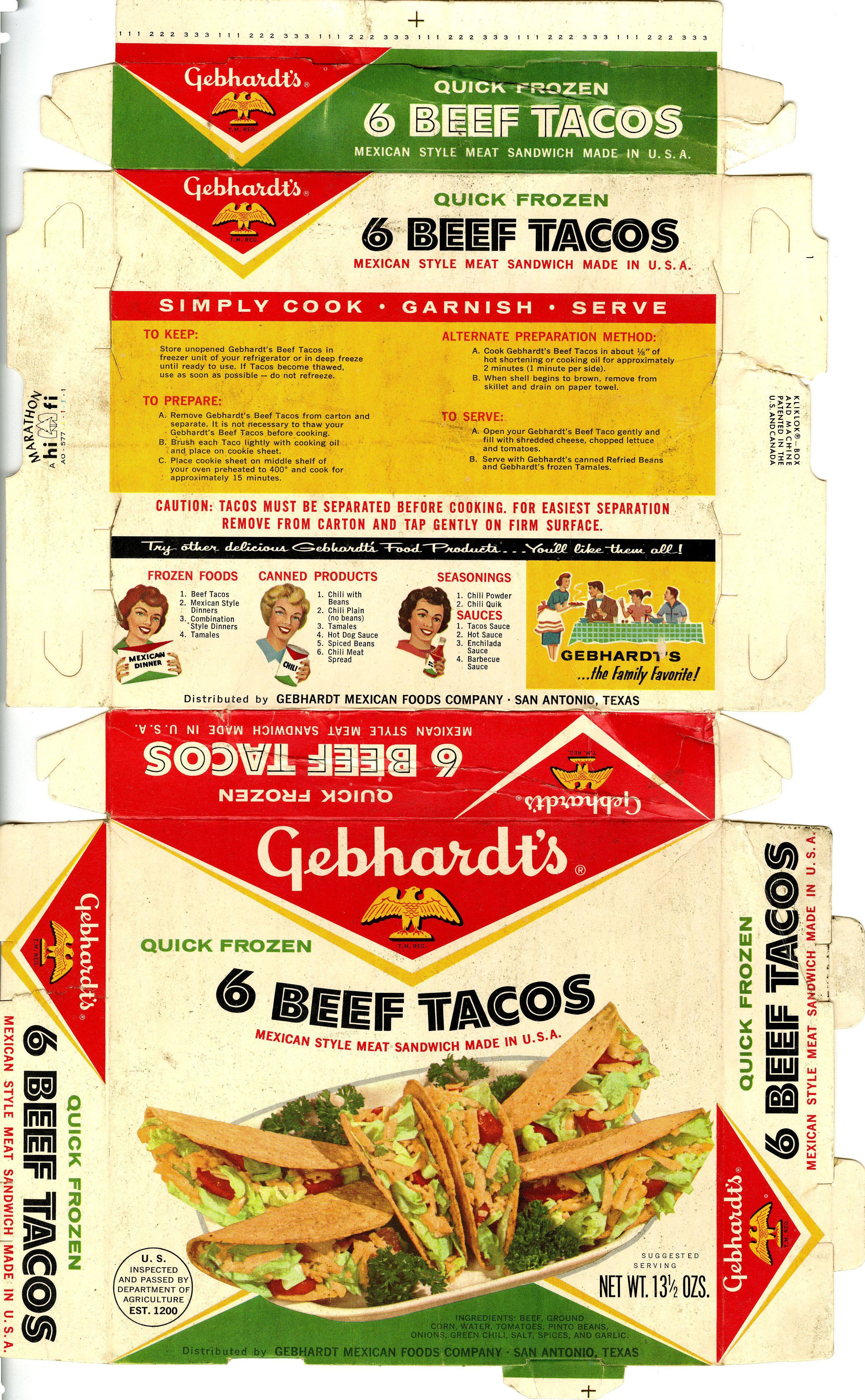 Simply cook, garnish and serve #utsalibraries #gebhardt #tacos #beef #beeftacos #mexicanfood lib.utsa.edu/gebhardt