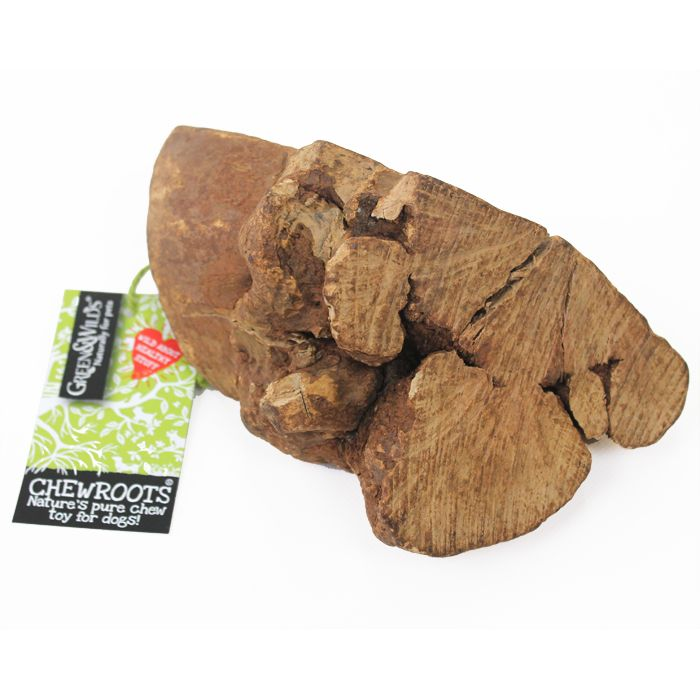 Chew Roots Are A Sustainable Natural Wood Dog Chew Toy Harvested
