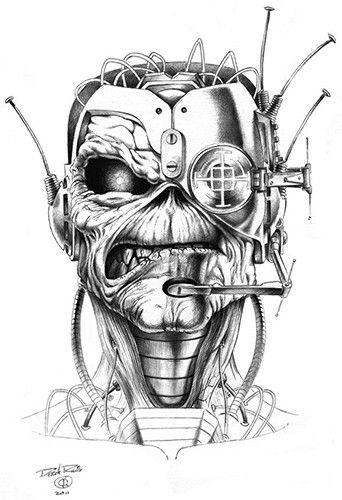 Pin de Patrick Lefebvre en Iron Maiden   Pinterest   Tatuajes ...
