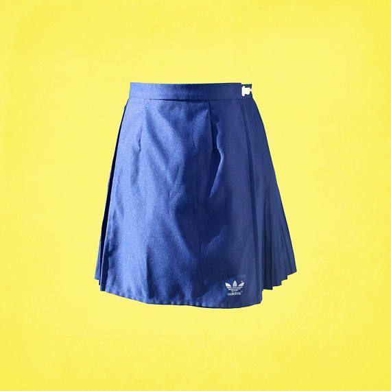 90 S Vintage Adidas Mini Tennis Skirt Vintage Sports Clothing Vintage Sports Skirt Vintage Tennis Skirt Adjustable Skirt Vintage Adidas Vintage Sports Clothing Tennis Skirt