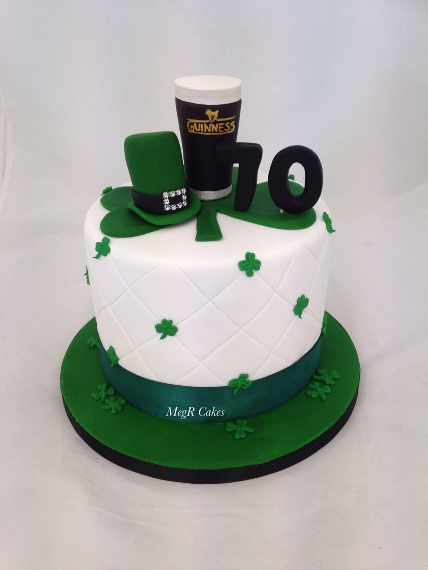 Irish themed cake Cakes I've made Pinterest Themed