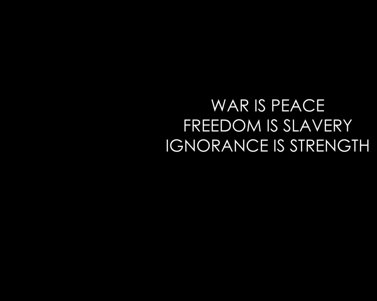 is ignorance love quotes 1984 strength peace forward 1984 quotes ...