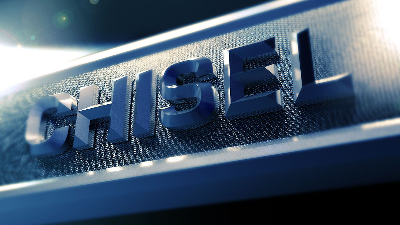 How to Make Chiseled Text in Cinema 4D Cinema 4d