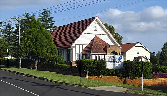 St David's Presbyterian Church Mary Street, North Toowoomba