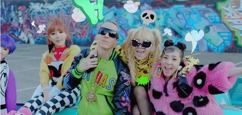 HAPPY mv 2ne1 CL Minzy Bom Dara