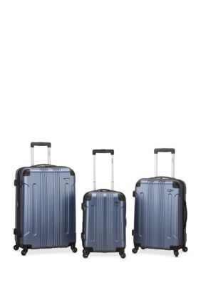 1f01f937e Rockland 3 Piece Sonic ABS Upright Set   Products   Rockland luggage ...
