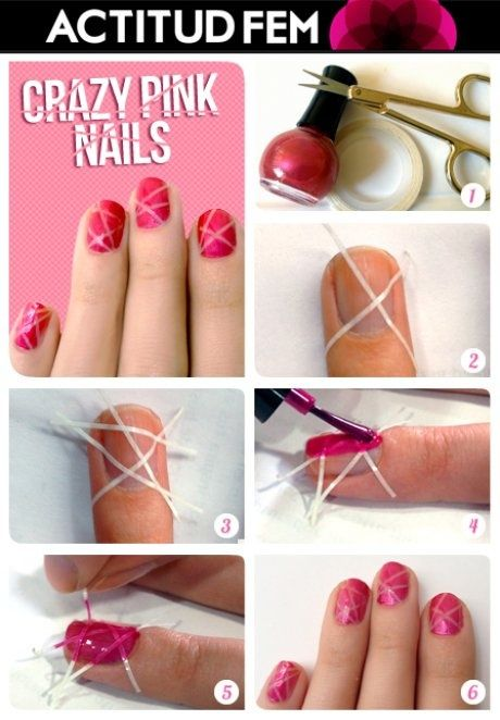Tutorial Crazy Pink
