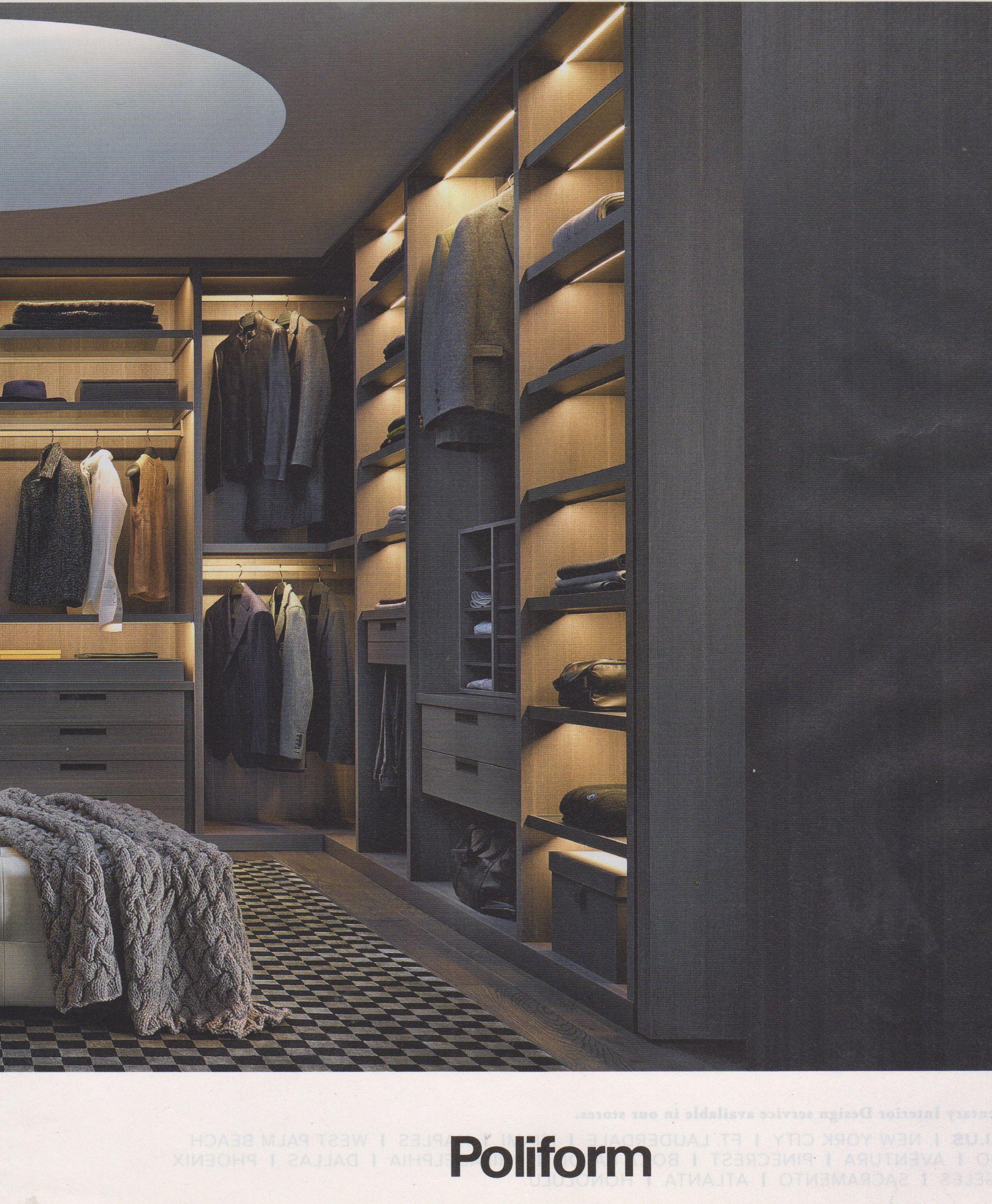 Poliform Walk In Closet