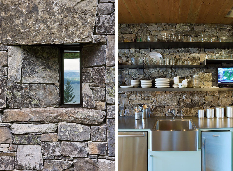 Steinküche | Häuser | Pinterest | Häuschen