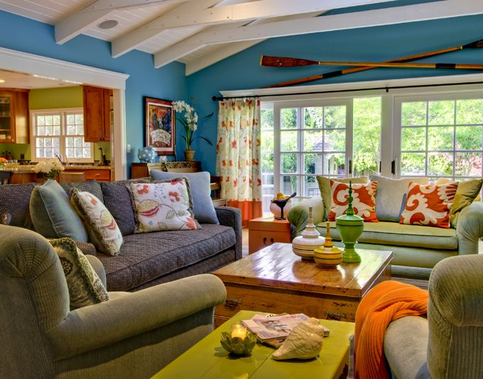 Viscusi Elson Interior Design | Bright Colours, Whimsical And Living Rooms