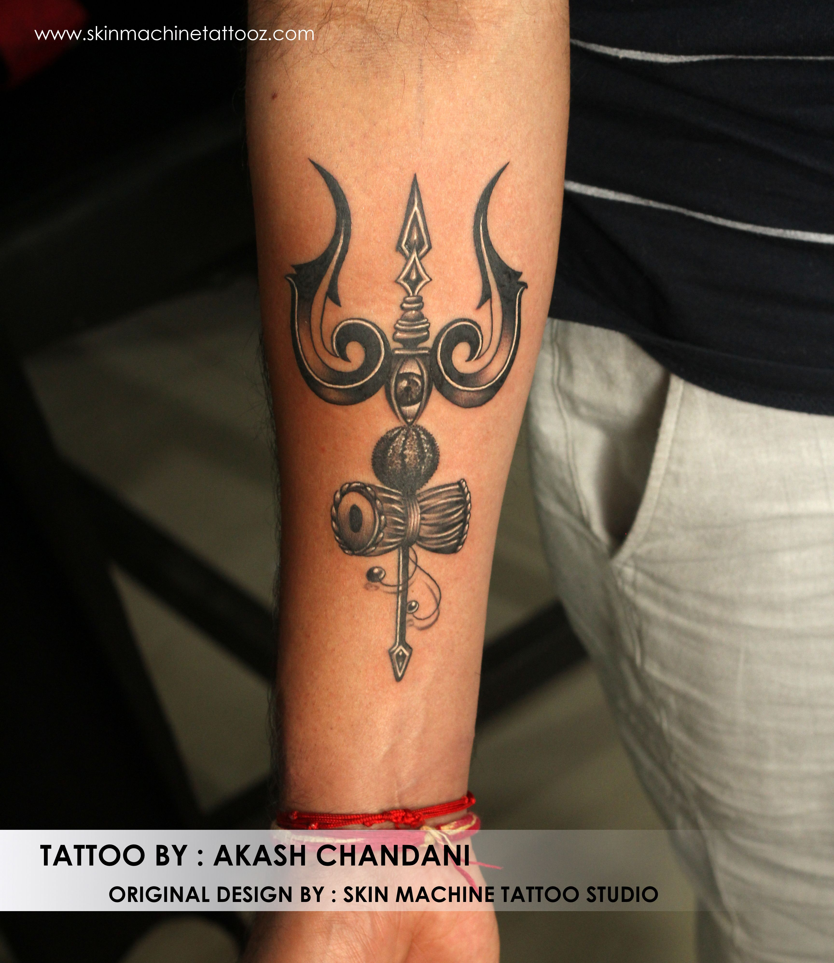 d55b54311 Customized Lord Shiva Elements Tattoo Designed by Naina Jain, Tattoo done  by Akash Chandani Thanks for looking !!