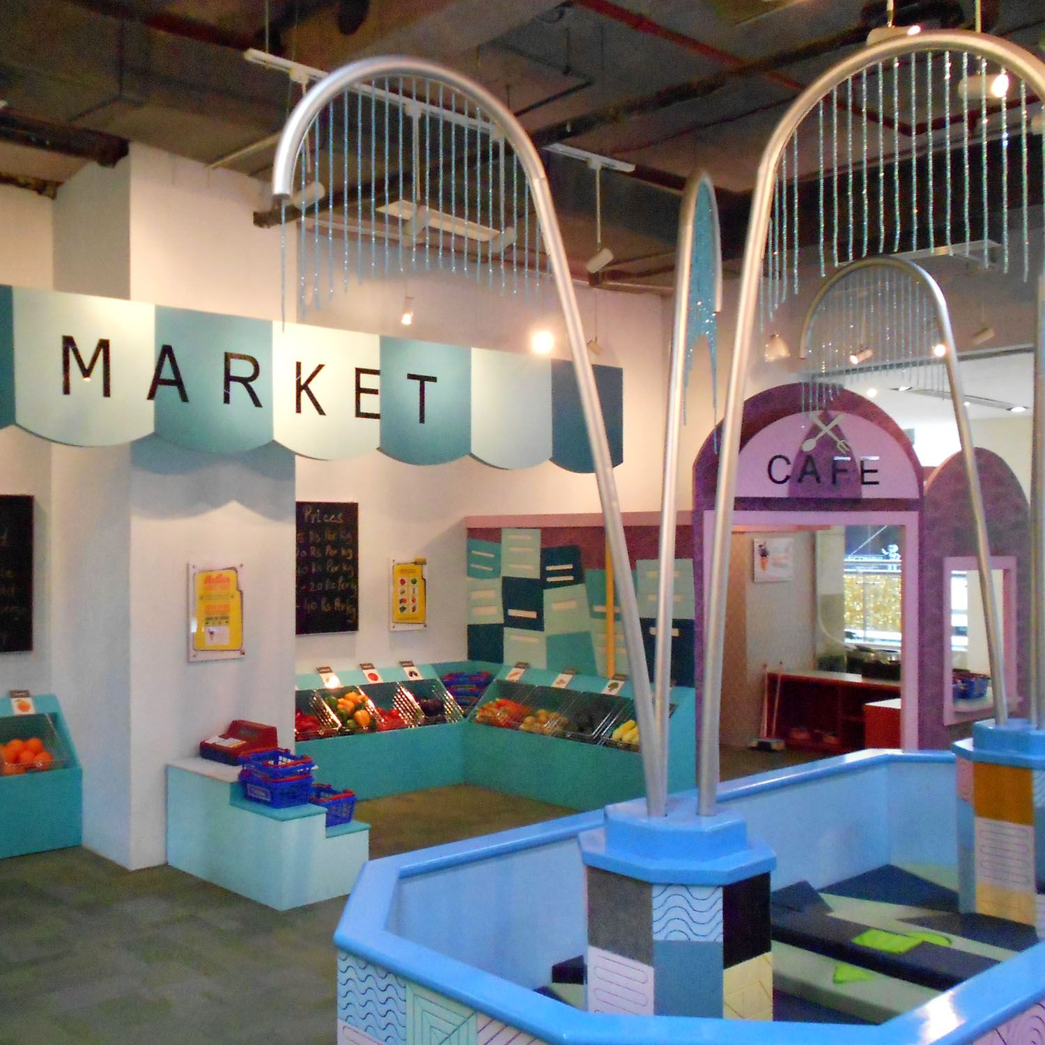 Live it soft play 0 3 learning area stellar childrens for Indoor playground design ideas