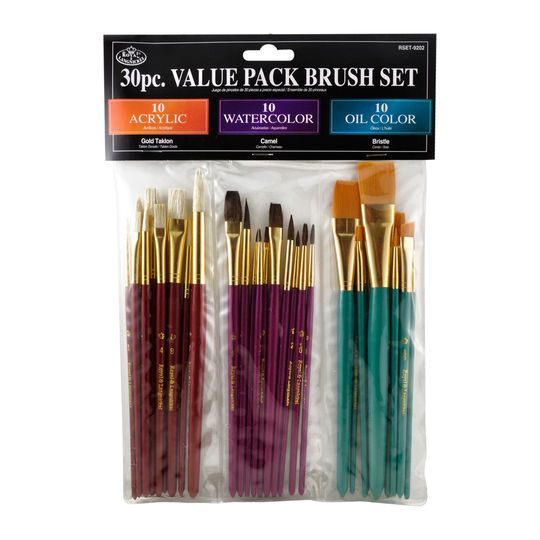 Royal Langnickel 30 Piece Value Pack Brush Set Paint Brush