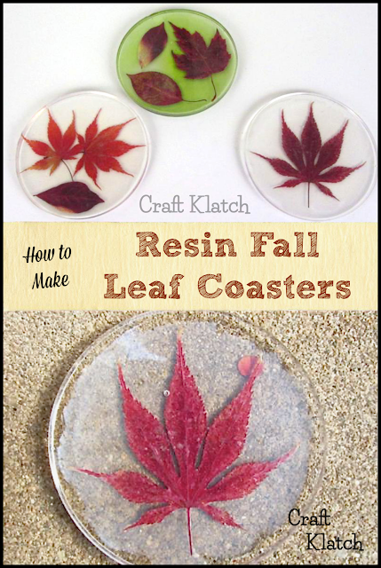 Fall Leaves Coaster is part of Diy resin coasters, Diy resin crafts, Coaster crafts, Resin diy, Fall crafts diy, Leaf crafts - 2AF3Pkk ~ According to the manufacturer, this one is heat resistant to 500 degrees F  Originally, I used Mod Podge and I'm not sure why it became cloudy, but it did  I have since been using the Super Gloss Mod Podge and it starts out and dries much clearer! Next time I will seal the leaves with the Mod Podge and pour a first resin layer and either lay the leaf in the wet resin, just glue a few dots on the back to tack it  Here is the video tutorial Here is where I improved on the process Directions This is how I did it, but if you read above with the Mod Podge, I probably wouldn't do it quite like this again  1  Pour enough to cover the bottom of the mold and let it set for at least 12 hours  2  Seal your leaves with Mod Podge, or some other clear drying sealer  Allow to dry  3  Affix the leaf to the resin  Knowing what I know now, I would tack it to the resin with a clear drying glue  Allow to fully dry  4  Pour your next layer of resin over the leaf, making sure it is completely covered  5  Allow to set for at least 12 hours and then unmold! Now you have your very own preserves bit of Fall! Happy Crafting and thank you for stopping by! Mona