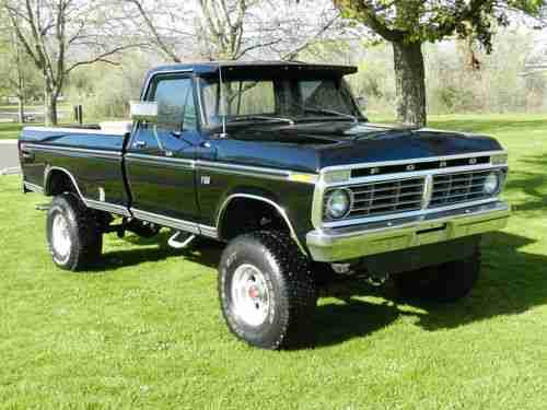 Put A Light Bar On Top And Call It Good Classic Ford Trucks