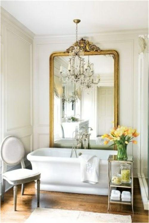 Modernes Badezimmer Im Frauenstil   Wohnideen Für Das Romantische Bad