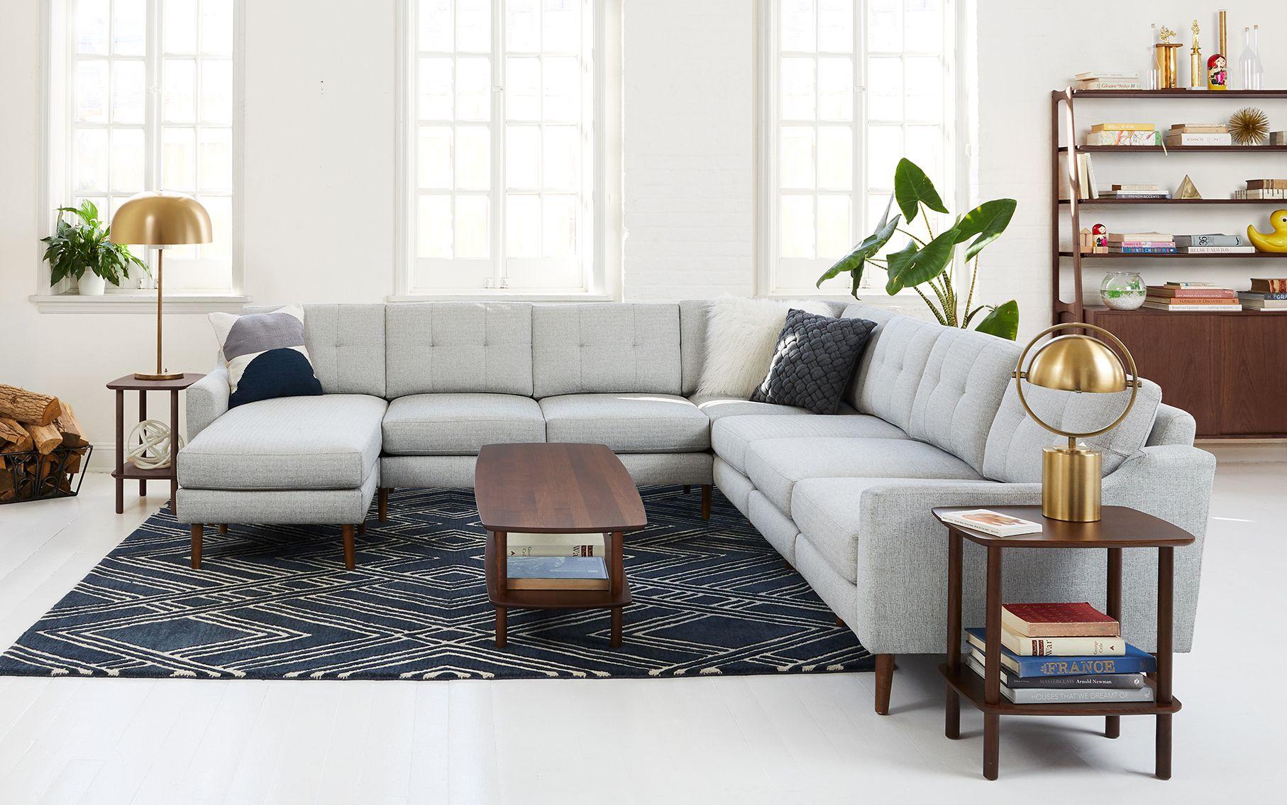 Serif Side Table Burrow Corner Sectional Sofa Design Coffee Table [ 1134 x 1814 Pixel ]