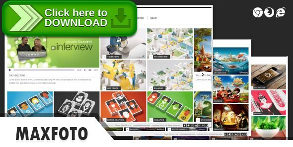 Free nulled MaxFoto - Clean Gallery HTML5 Template download