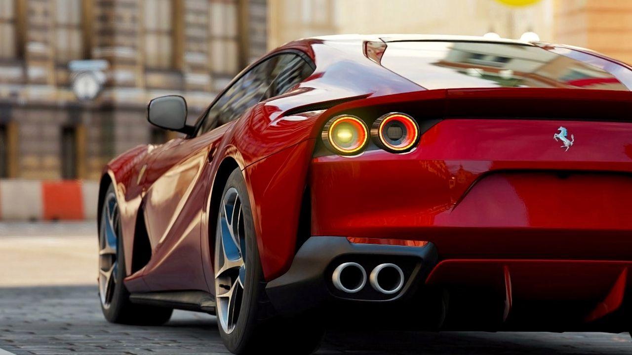 Wallpaper Ferrari 812 Superfast Ferrari 812 Ferrari Sportwagen Rot Ferrari 812 Red Sports Car Ferrari