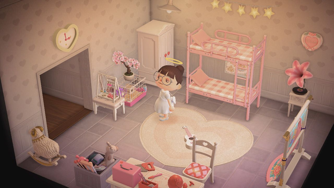 Animal Crossing New Horizons Classic Styled Bedroom Animal Crossing New Animal Crossing Animal Crossing Villagers