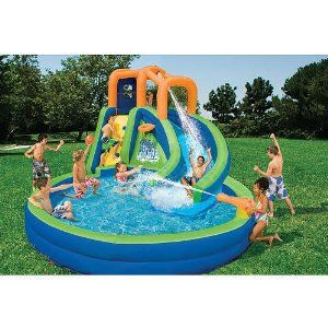 Pin By Komor On Home Inflatable Water Slide Water Slides Inflatable Water Park