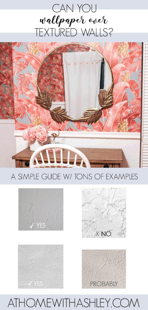 Can You Wallpaper Over Textured Walls Textured Walls Decorating Blogs Wallpaper
