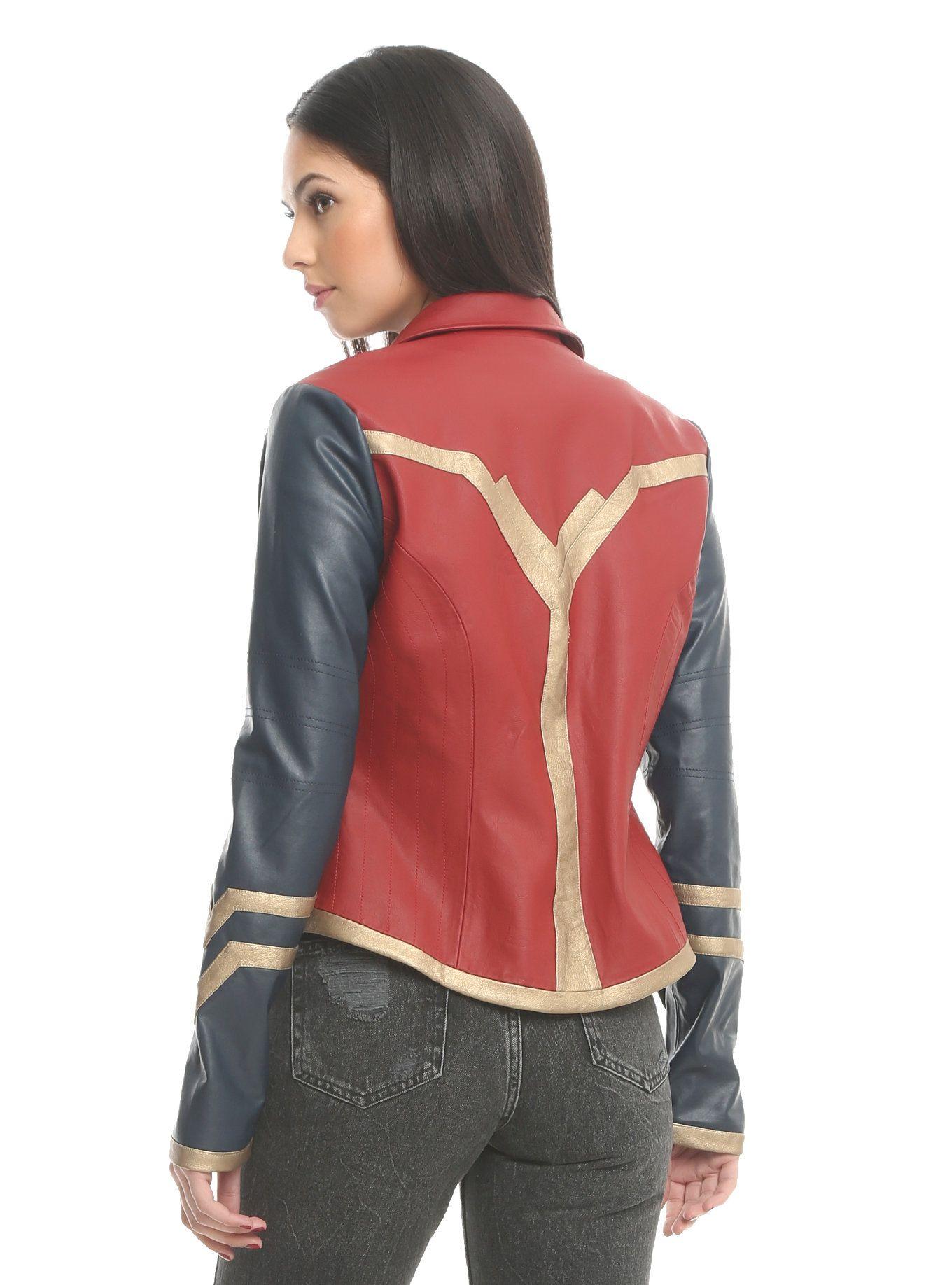Her Universe DC Comics Wonder Woman Armor Faux Leather