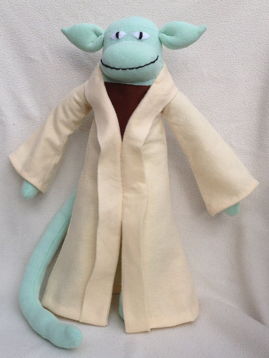Yoda Sock Monkey - ETSY | STAR WARS plus | Pinterest