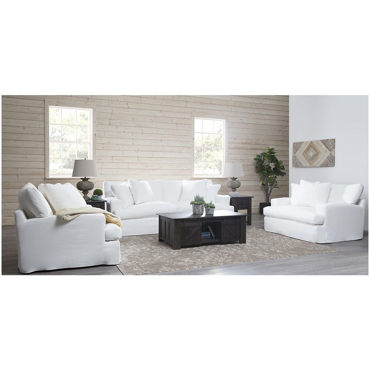 Utopia White 3 Piece Sectional Fabric Sectional Sofas 3 Piece Sectional White Sectional