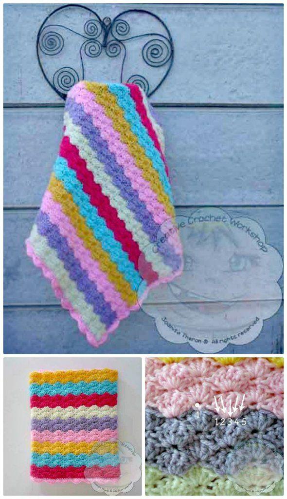 25 Free Crochet Rainbow Patterns for Beginners   Crochet   Pinterest