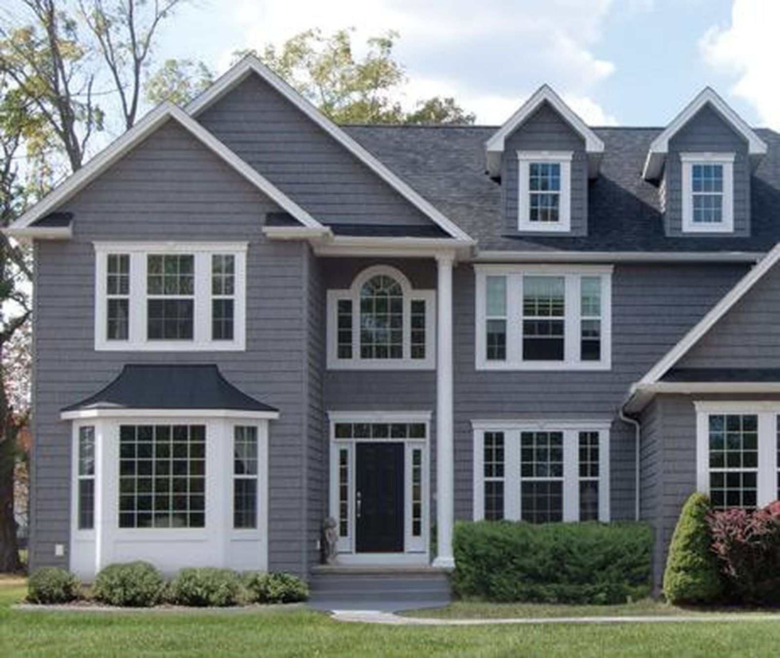 Details about Vinyl Siding 7 Staggered Shake Like Real