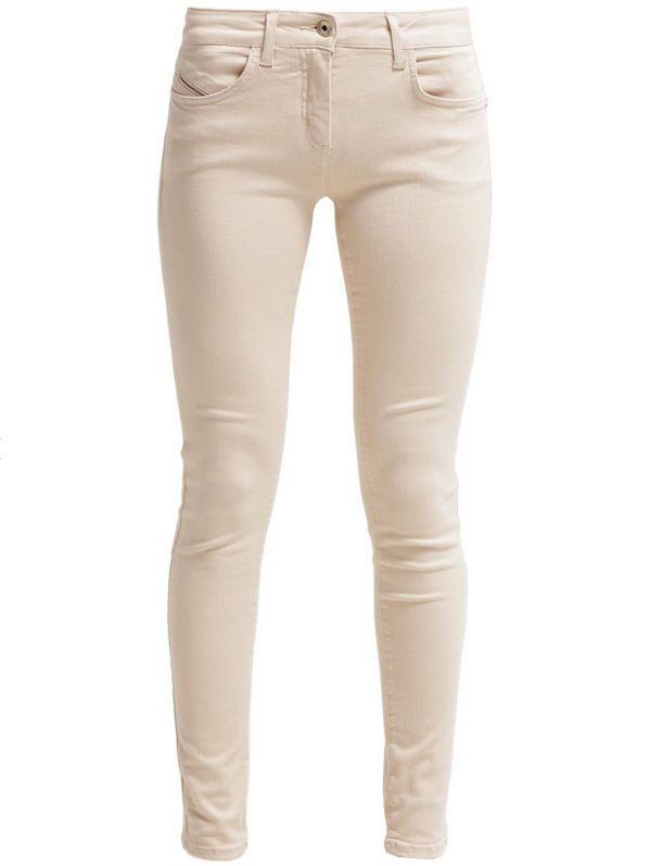 11d9b725d00c Patrizia Pepe Jean slim sheer beige melange - Jeans Femme Zalando