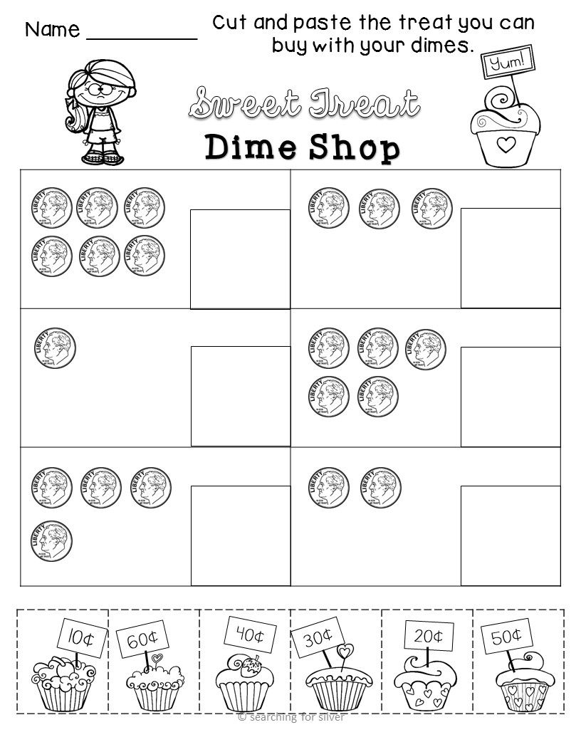 Coin Math Printables and Activities | Maths, Kindergarten learning ...