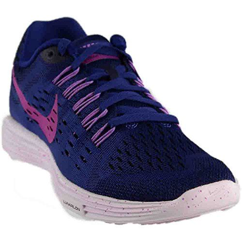 Nike Women's Wmns Lunartempo, DEEP ROYAL BLUE/FUCHSIA FLASH-FUCHSIA GLOW-L