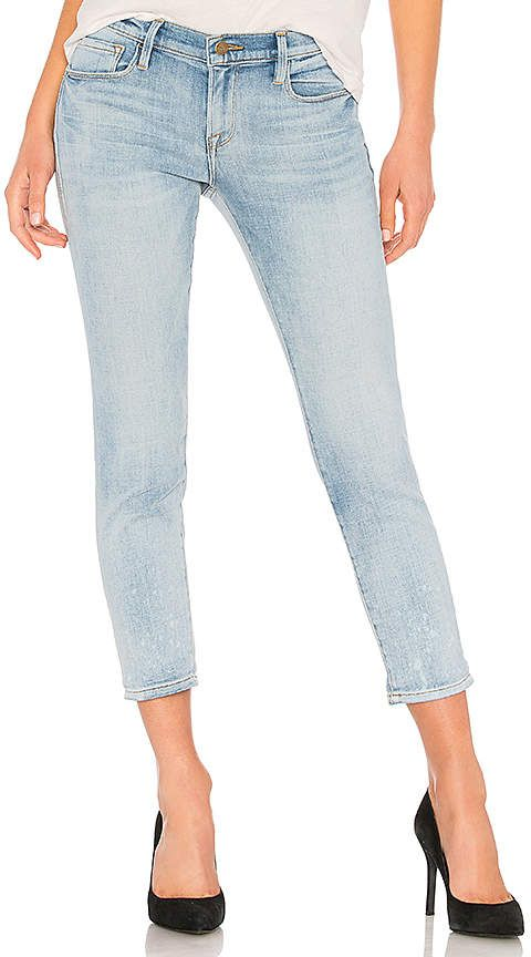 FRAME Le Garcon #Jeans. Slightly tapered legs lend a sophisticated ...