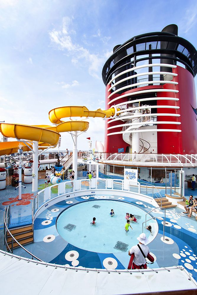 Pool Areas Aboard The Disney Magic Cruise Ship: Disney Magic Review Part 6 And Final – Pools