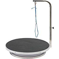Go Pet Club Pet Dog Grooming Table With Arm 22 Inch Black Dog Grooming Tucker Murphy Pet Dog Bath