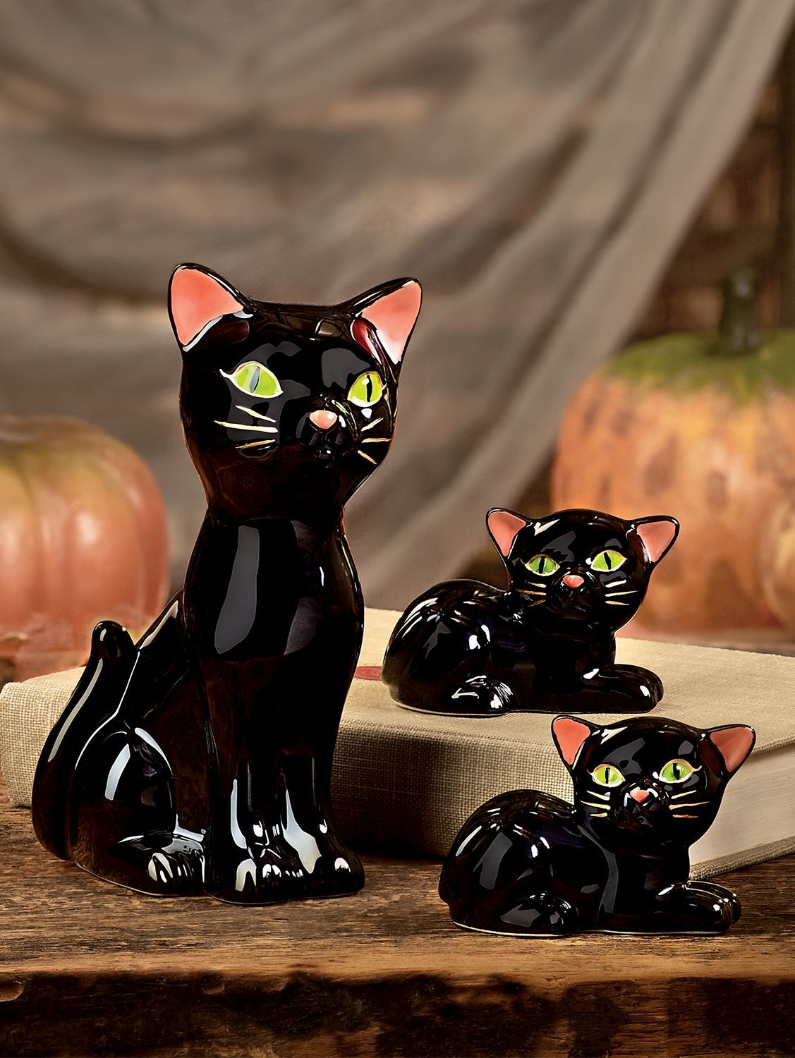 Ceramic Black Cat Family (With images) Purchase history