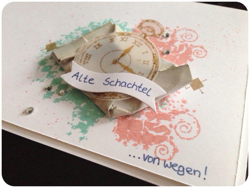 Alte Schachtel Von Wegen Lustige Geburtstagskarte Zum 30