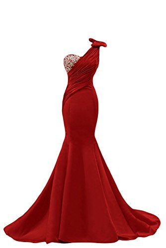 Long Red Prom Dresses Size 14