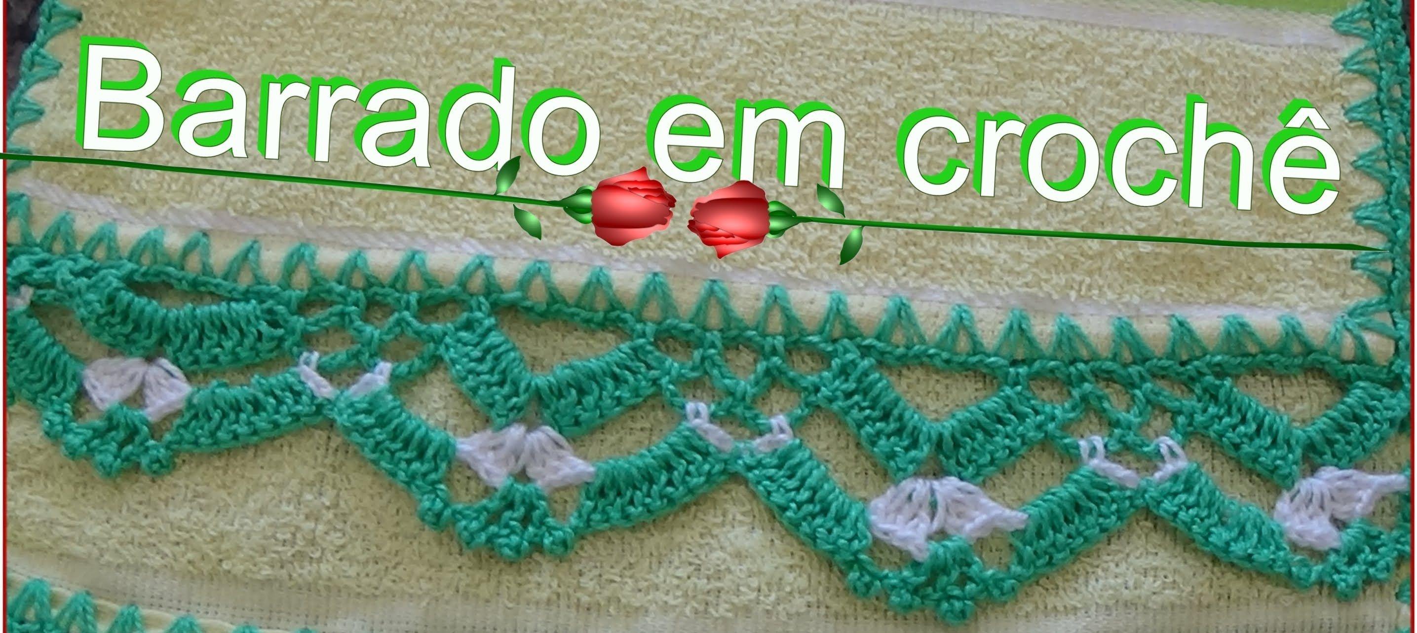 Bico Em Croche Para Pano De Prato Toalhas Modelo 19 Bicos De