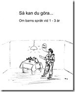 Förskoleburken: Broschyr med tips för hur man främjar språkutveckl...