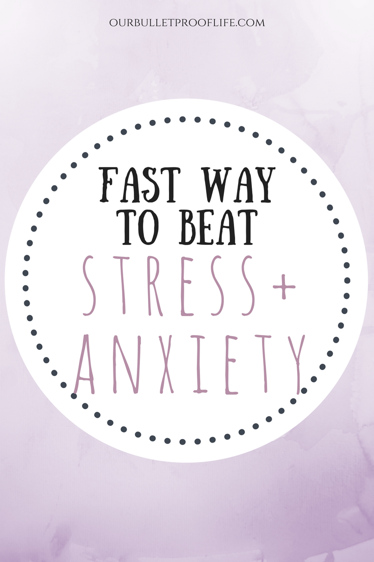 How to get over anxiety fast