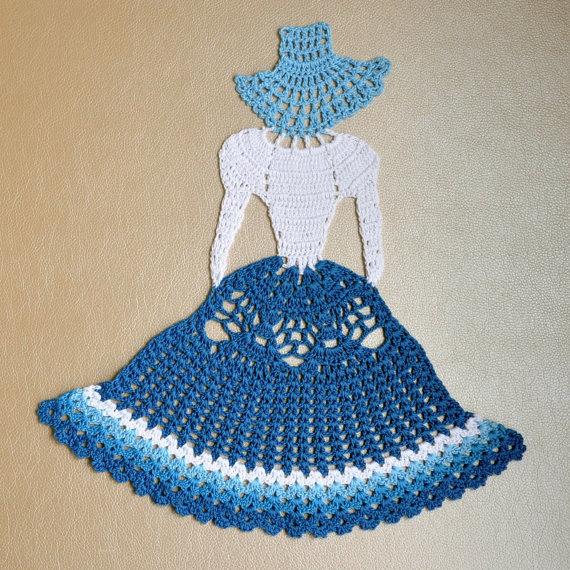 Crochet Crinoline Lady Doily. Home decor | Tapetes de ganchillo ...