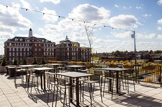 Rooftop Restaurants In St Louis