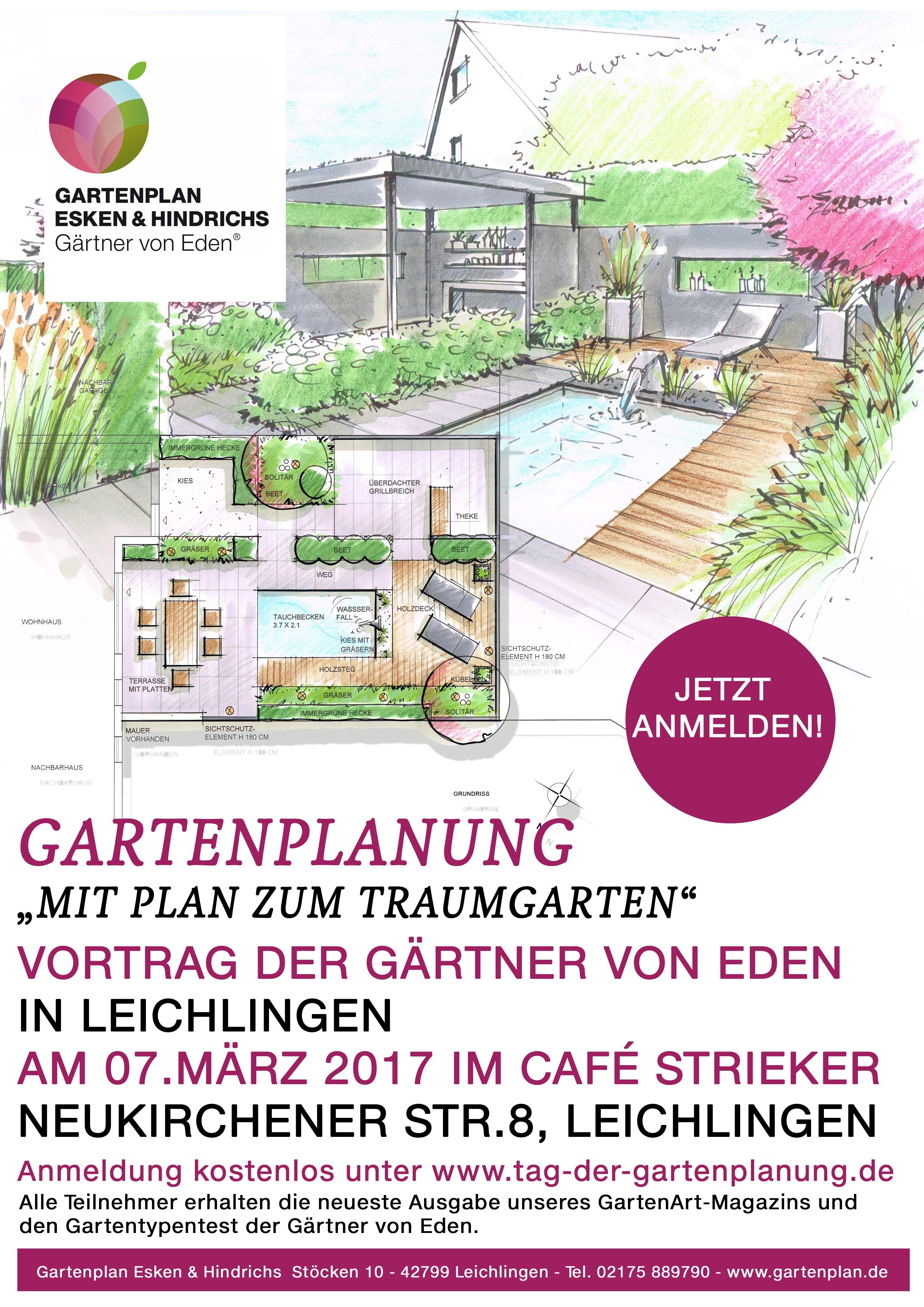 Vortrag Am 732017 Zum Thema Gartenplanung Veranstaltungen Und