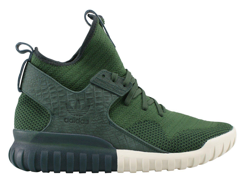 8b6b55a20cfde Adidas Tubular X Primeknit Trainers Green | Adidas Shoes | Adidas ...