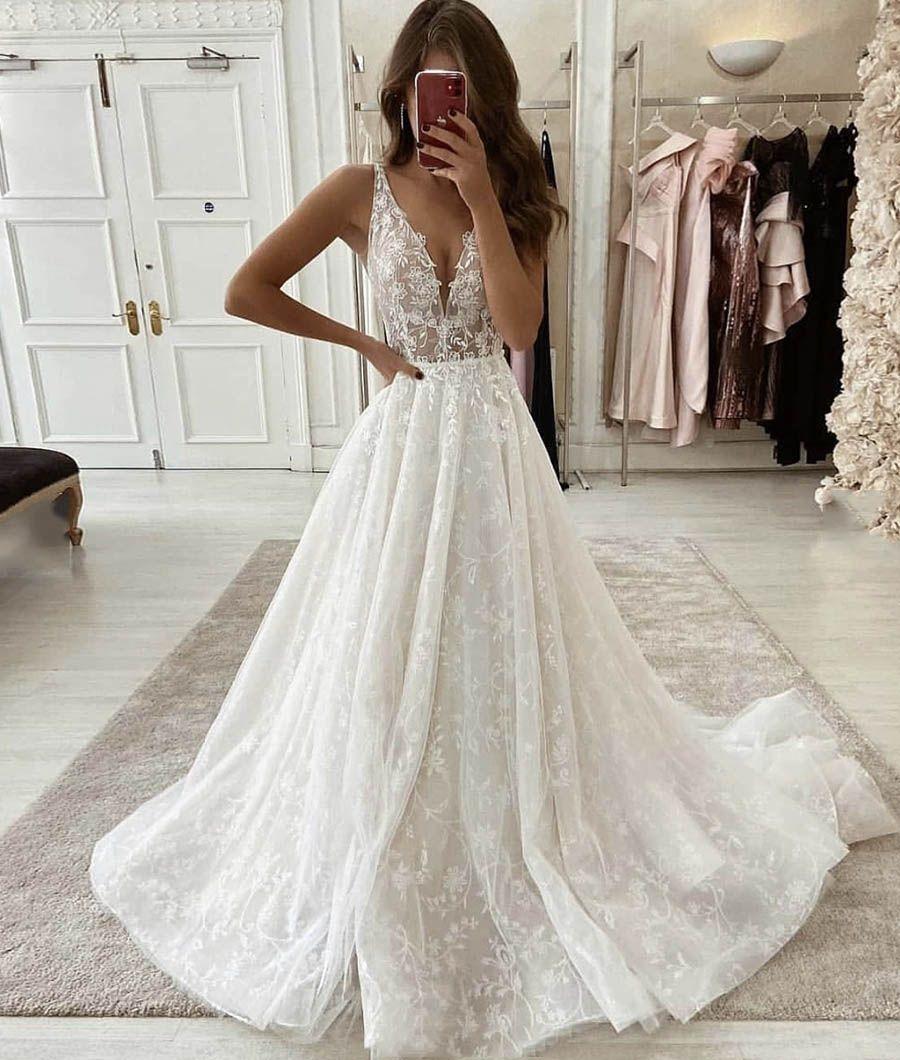 Wedding Dresses Rustic Wedding Gowns Blush Pink Wedding Dress Cute Wedding Dress [ 1060 x 900 Pixel ]
